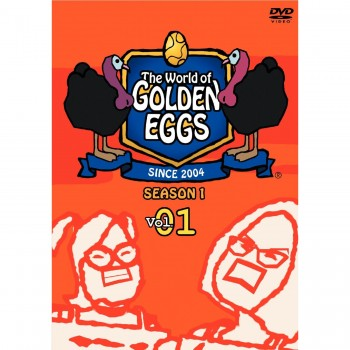 The World of GOLDEN EGGS-ゴールデンエッグス- DVD