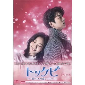 韓国ドラマ トッケビ~君がくれた愛しい日々~DVD-BOX1+2 11枚組